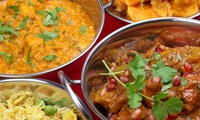 Two-Course Indian Meal with a Glass of Wine and Sides to Share for Two or Four at Kailash Parbat