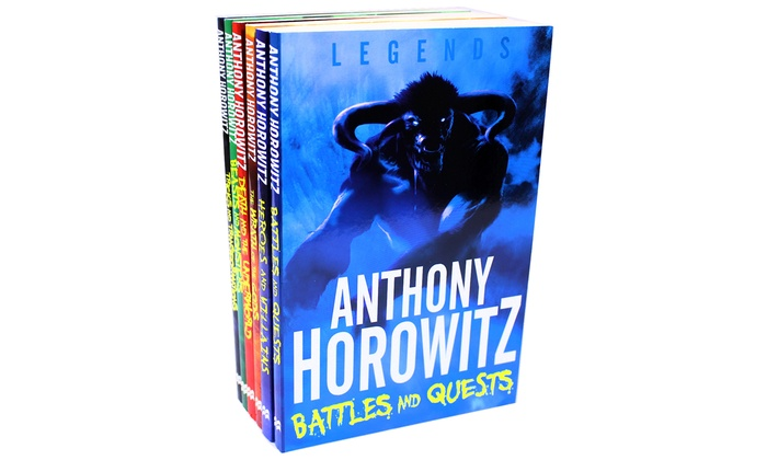 Groupon Goods Global GmbH: Anthony Horowitz Legends Six-Book Collection