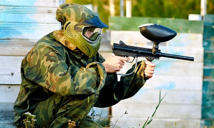 Three Hours of Paintball with Equipment Rental for Two or Four at Drop Zone Paintball Park (Up to 61% Off)
