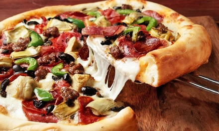 Weekday Lunch, Pub Fare for Dinner, or Pizza Meal at Pete's Restaurant and Brewhouse (Up to 40% Off)