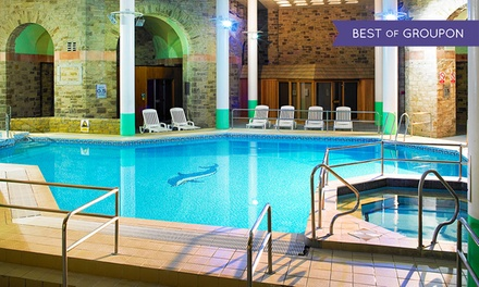 Cheshire: 1 or 2 Nights for Two with Meals and Leisure Access; with Option for Afternoon Tea at 4* Shrigley Hall Hotel