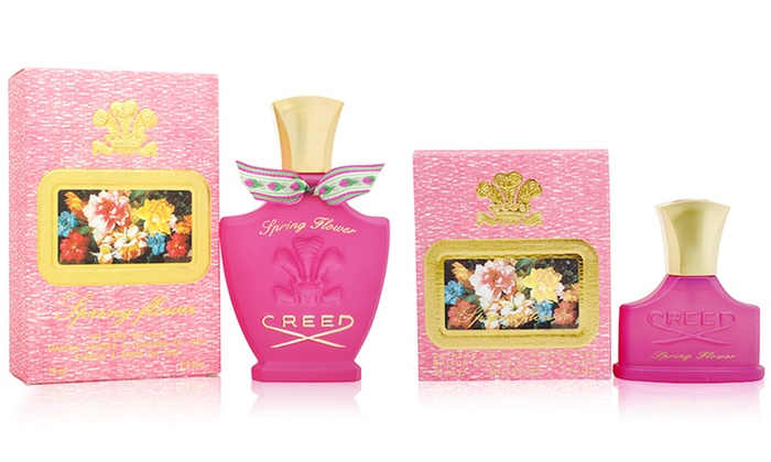 Creed spring flower perfume groupon goods creed spring flower millsime spray for women 1oz or 25oz mightylinksfo