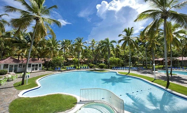 TripAlertz wants you to check out ✈ All-Inclusive Grand Paradise Samaná Stay w/ Air. Incl. Taxes & Hotel Fees. Price per Person Based on Double Occupancy. ✈ All-Inclusive Dominican Vacation with Airfare - All-Inclusive Dominican Vacation