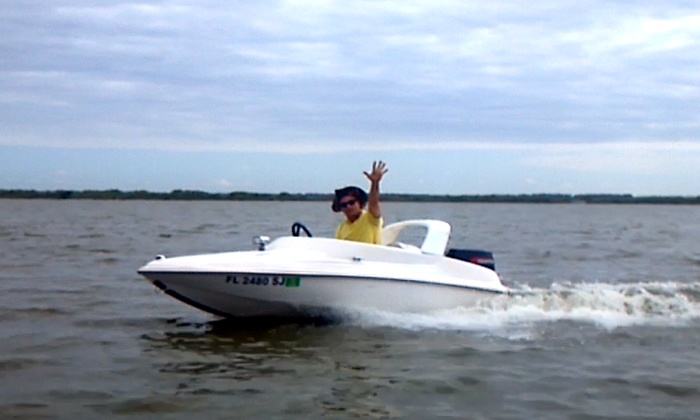 Butler Boat Rental - Lake Apopka: $199 for $400 Worth of Mini-speed Boat Rental  at Butler Boat Rental
