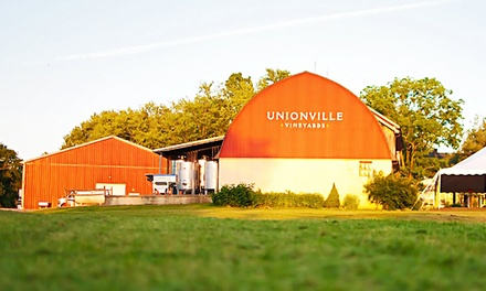 Spring Wine Festival for Two, Four, or Six at Unionville Vineyards (Up to 53% Off)