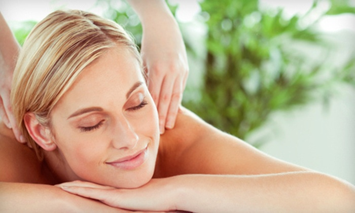 Vivas Salon & Spa - Cliffside Park: Massage with Optional Facial, Deep Conditioning, and Blowout at Vivas Salon & Spa in Cliffside Park (Up to 63% Off)
