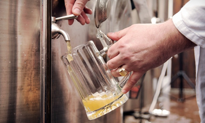 Booth's Brewing - Brandon: $25 for a Beer-Brewing Class for Two at Booth's Brewing ($50 Value)