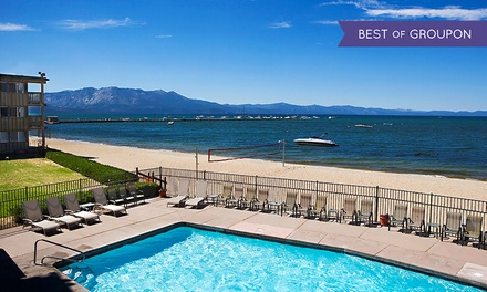 Stay at Tahoe Lakeshore Lodge & Spa in South Lake Tahoe, CA. Dates into May.