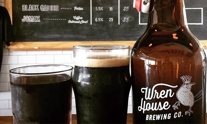 Wren House Brewing - Encanto: Beer Flight for Two or Four at Wren House Brewing (Up to 41% Off)