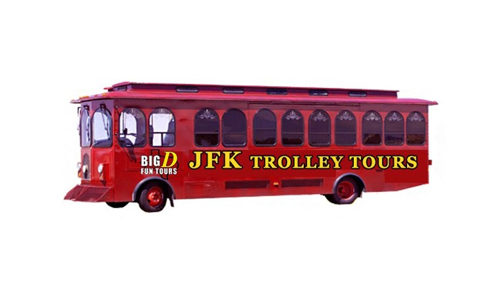 Dallas Trolley Tours - Downtown Dallas: One-Hour JFK Assassination Trolley Tour for One or Two from Dallas Trolley Tours (Up to 50% Off)