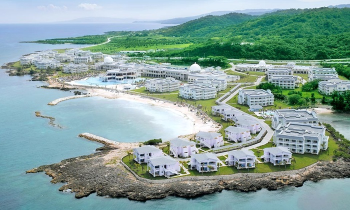 Grand palladium jamaica resort spa stay with airfare for Round the world trips all inclusive