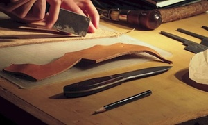 Vividbraille: Up to 55% Off BYOB Leather Working 101 Classes at Vividbraille