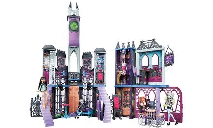 Monster High Deadlux High School Playset