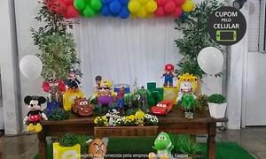 Mario Kids Festas: Festa infantil com buffet para 40 ou 60 pessoas com Mario Kids Festas – Jardim Botânico