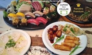 A&C Sushi Bar: A&C Sushi Bar – Santana: menu degustação com 20 peças para 1 ou 2 pessoas