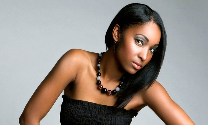Andrea Thomas at L' Attrait Salon and Spa - L'Attrait Salon & Spa: Cut, Condition, and Style with Optional Relaxer from Andrea Thomas at L' Attrait Salon and Spa (Up to 55% Off)