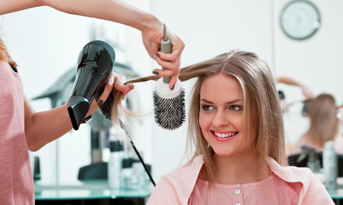 MG Hair Artistic Studio - Flushing: Color and Blow-Dry from MG Hair Artistic Salon (59% Off)