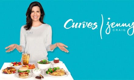 $85 for $266 Worth of Weight loss package at Curves-Jenny Craig