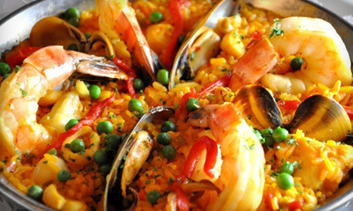 Vizcaya Restaurante and Tapas Bar - Carrollwood: $25 for $50 Worth of Spanish Cuisine, Tapas, and Drinks for Dinner at Vizcaya Restaurante and Tapas Bar
