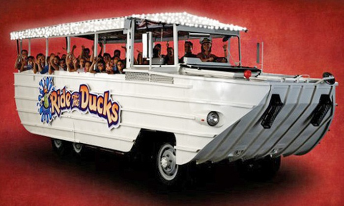 Ride the Ducks of Seattle - Seattle Center: $15 for a Holiday Duck Tour for Two from Ride the Ducks of Seattle ($30 Value)