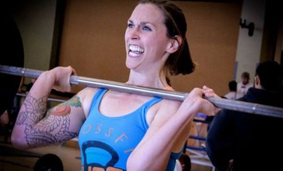 One Month of Unlimited <strong>CrossFit</strong> Classes from True Fit Athletics (65% Off)