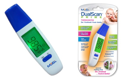 Mobi DualScan Digital Thermometer for Ears and Foreheads