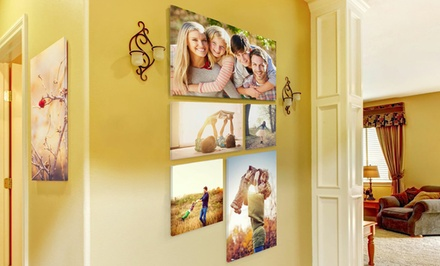One Framed Canvas from CanvasCuts (Up to 67% Off). Five Sizes Available.