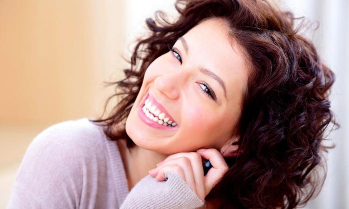 Brite Clean Smiles - Costa Mesa: Zoom! Teeth Whitening or Dental Exam with Option of Teeth Whitening or Mouth Guard at Brite Clean Smiles (Up to 69% Off)