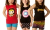 DC Comics or Marvel 2-Piece Girls Pajama Set: DC Comics or Marvel Superhero 2-Piece Girls Pajama Set. Multiple Designs Available. Free Returns.