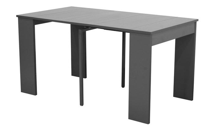 console extensible et chaises groupon shopping. Black Bedroom Furniture Sets. Home Design Ideas