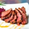 44% Brazilian Steak-House Food at Brazzaz