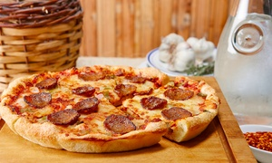 Erbelli's: Pizza and Italian Food for Two or Four or More or Takeout at Erbelli's (Up to 40% Off)