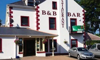 Co. Donegal: 1 to 3 Nights for Up To Four with Full Irish Breakfast and Option for Dinner at The Point Inn