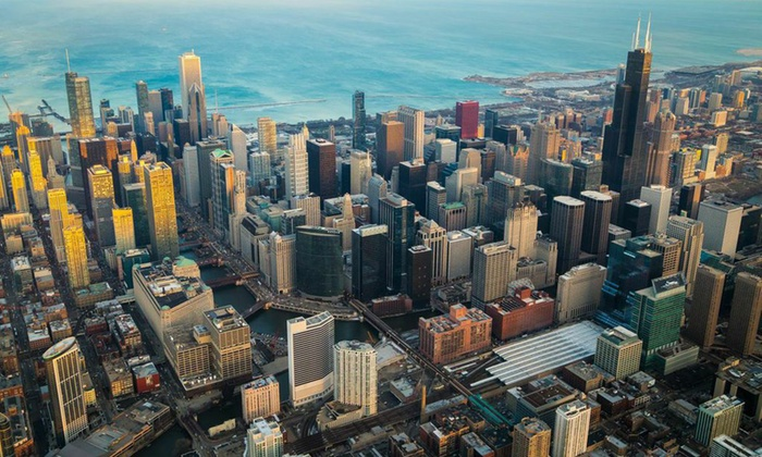 Chicago Helicopter Experience - Wheeling: Helicopter Tour for Two From Chicago Helicopter Experience