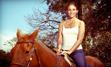 Trail Ride and Wine Tasting for One, Two, or Four from Happy Trailz Ranch (Up to Half Off)