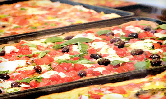 Pizza Rustica - West Hollywood: $9 for $18 Worth of Pizza, Paninis, and More at Pizza Rustica in West Hollywood