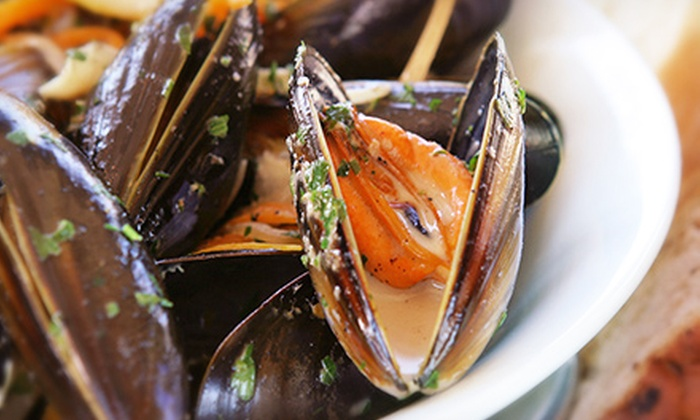Monteros (formerly Cafe Biere) - Albany: $20 for Mussel Dinner with Belgian Beers for Two at Monteros (formerly Cafe Biere) ($40 Value)