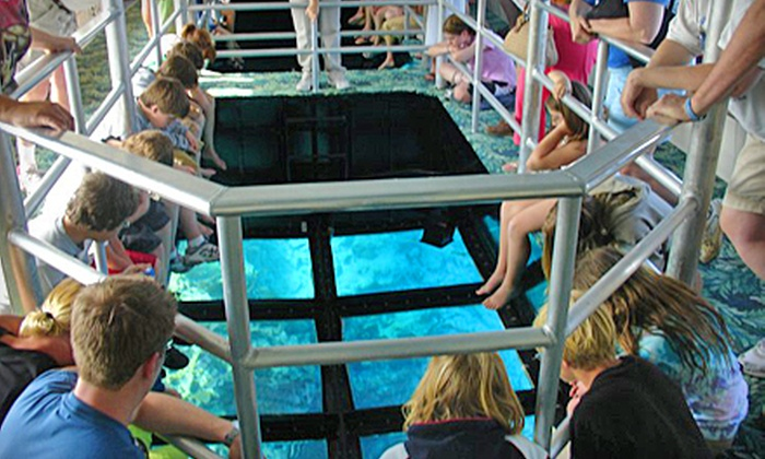 "Key Largo Princess - Key Largo Princess: Two-Hour Glass-Bottomed-Boat Cruise for Two or Four on the ""Key Largo Princess"" (Up to 54% Off)"