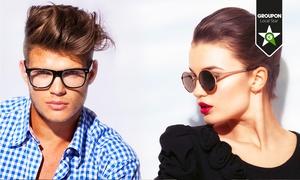 IL PRISMA OTTICO: Uno o 2 paia di occhiali da vista con lenti trasparenti o da sole e montatura di marca (sconto fino a 81%)