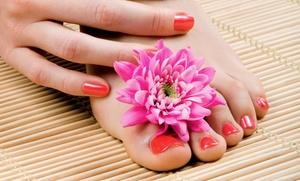 Salon Etoiles: Mani-Pedi, or Shellac Manicure and Regular Pedicure at Salon Etoiles (Up to 48% Off)