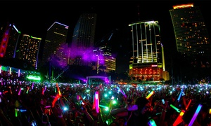 Night Nation Run: $29 for Entry to a Nighttime 5K Music Festival from Night Nation Run on Saturday, June 11 ($60 Value)