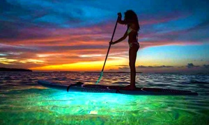 Razor Fin Charters: Sunset LED Kayak or Paddleboard Tour for One, Two, or Four from Razor Fin Charters (68% Off)