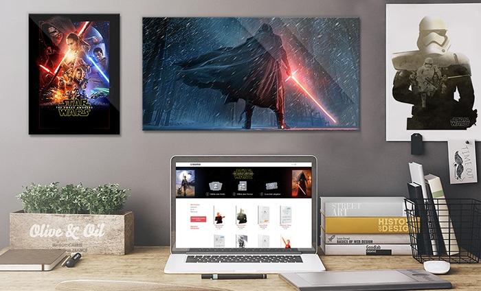 star wars acrylglas druck groupon goods. Black Bedroom Furniture Sets. Home Design Ideas