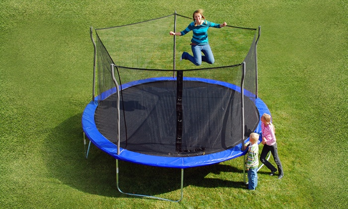 Propel 14 Ft. Trampoline with Safety Enclosure: Propel 14 Ft. Trampoline with Safety Enclosure. Free Shipping.