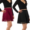 Sociology Lace Skater Skirt | Groupon Exclusive