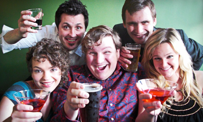 """""""Bye Bye Liver: The Twin Cities Drinking Play"""" - Cabaret Theater at Camp Bar: """"Bye Bye Liver: The Twin Cities Drinking Play"""" at Camp Bar and Cabaret (Up to 51% Off). 11 Showtimes Available."""