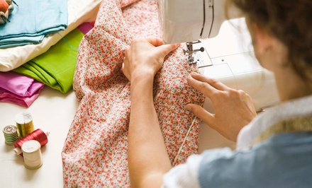 Two-Hour Introductory Sewing Class for One or Two at A Little Square (Up to 52% Off)