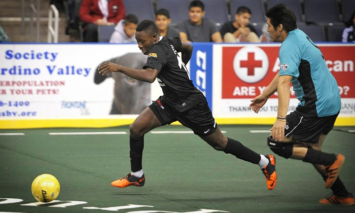 Ontario Fury - Citizens Business Bank Arena: Ontario Fury Indoor Soccer Match at Citizens Business Bank Arena (Up to 63% Off). Six Matches Available.