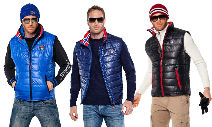 huge selection of a5edd d87d8 Piumino smanicato uomo | Groupon Goods