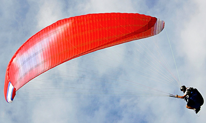 Pennsylvania Paragliding - Great Meadows: Tandem Paragliding Flight for One or Two at Pennsylvania Paragliding (Up to 51% Off)